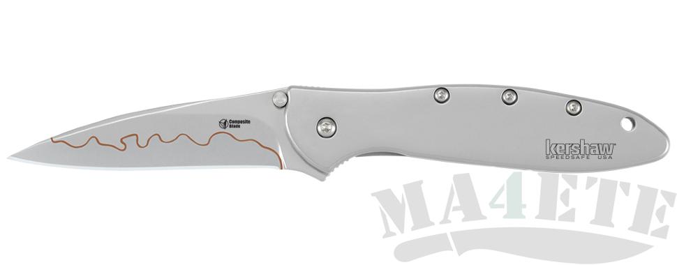 картинка Складной полуавтоматический нож Kershaw Leek Composite Blade K1660CB от магазина ma4ete