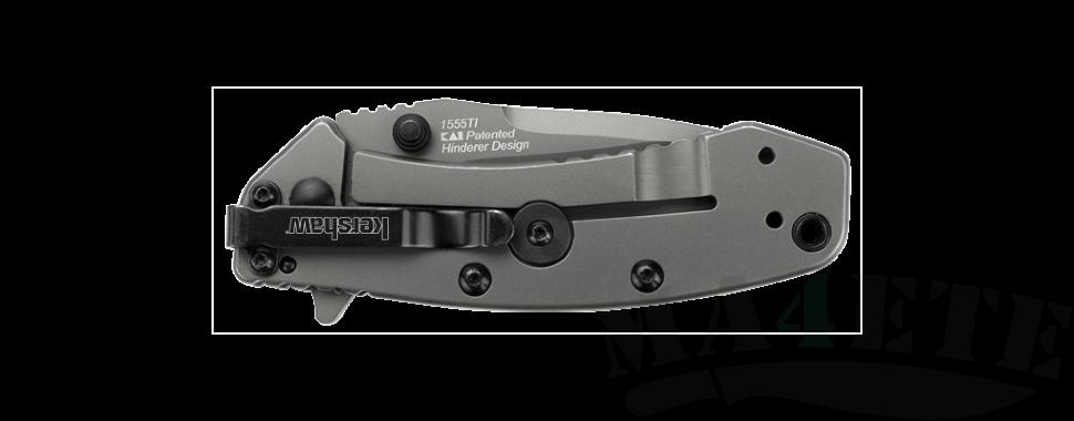 картинка Складной полуавтоматический нож Kershaw Cryo K1555TI от магазина ma4ete