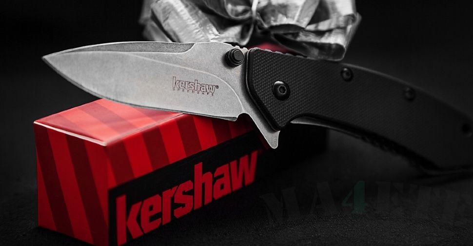 картинка Складной полуавтоматический нож Kershaw Cryo G-10 K1555G10 от магазина ma4ete