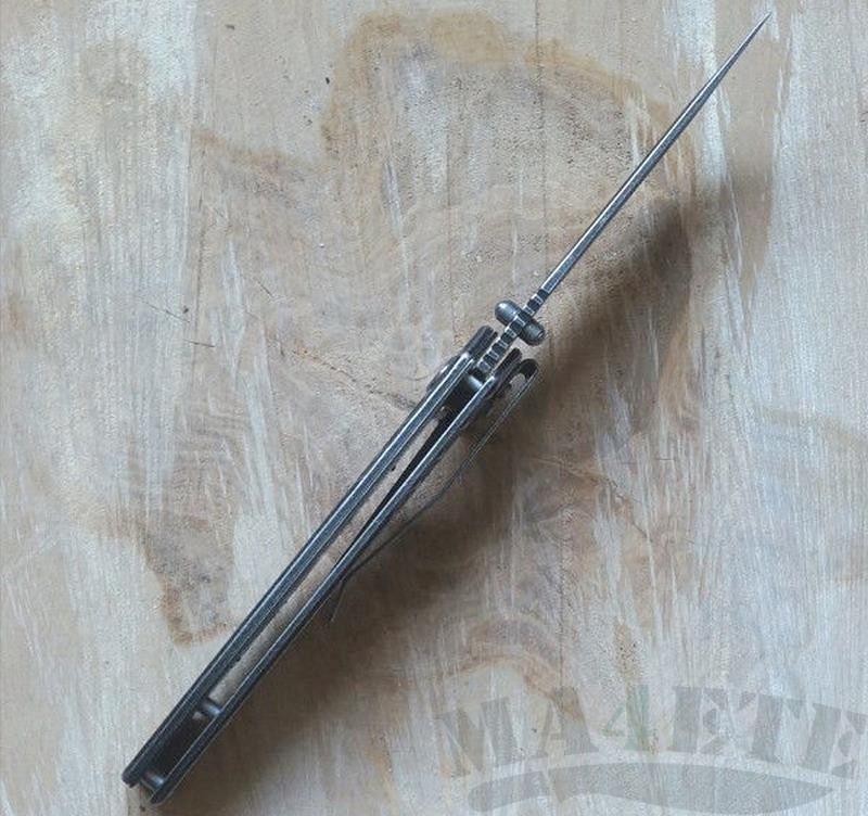 картинка Складной полуавтоматический нож Kershaw Mentalist K1307BW от магазина ma4ete