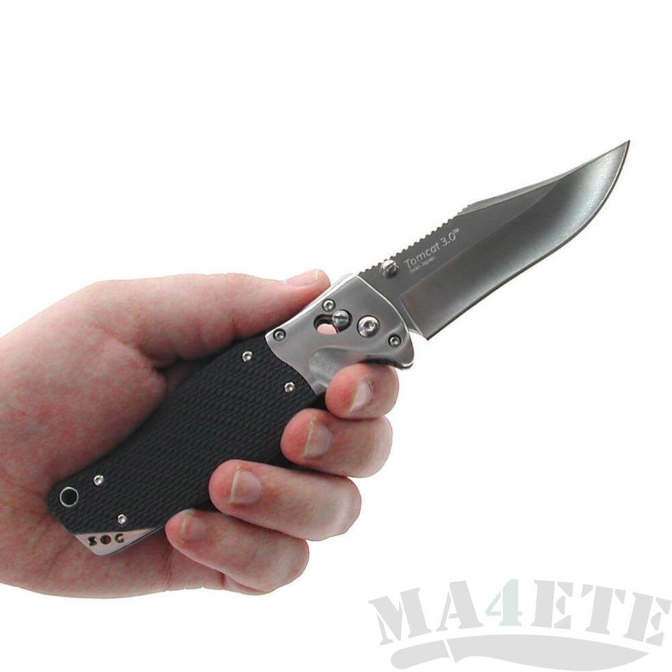 картинка Складной нож SOG Tomcat 3.0 S95 от магазина ma4ete