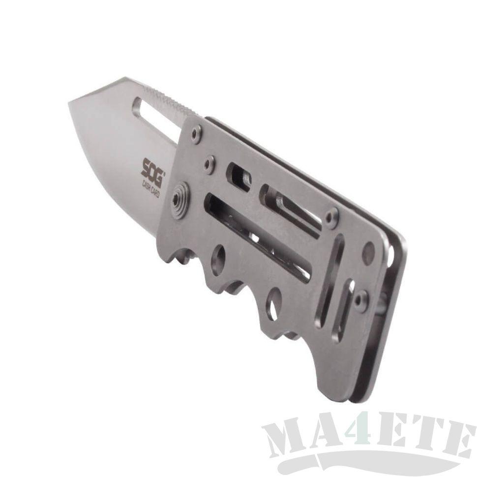 картинка Складной нож SOG Cash Card EZ1 от магазина ma4ete