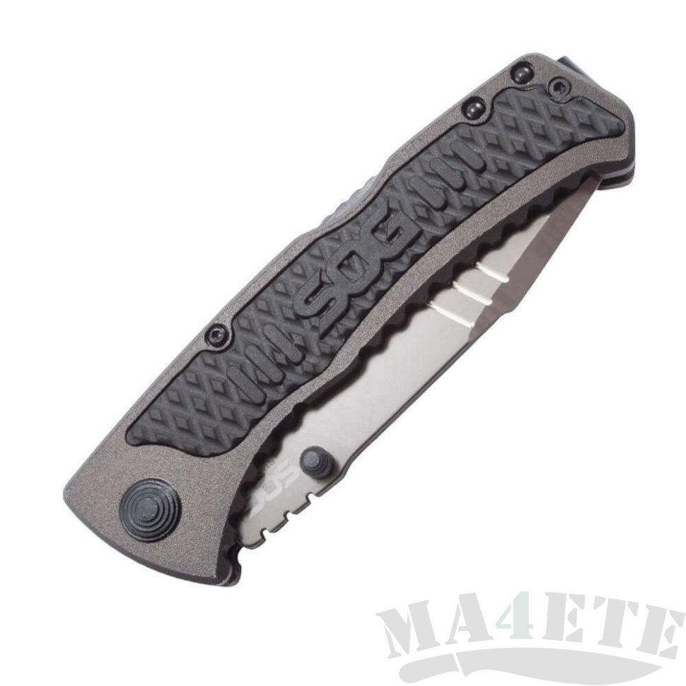 картинка Складной полуавтоматический нож SOG Sideswipe SW1011 от магазина ma4ete