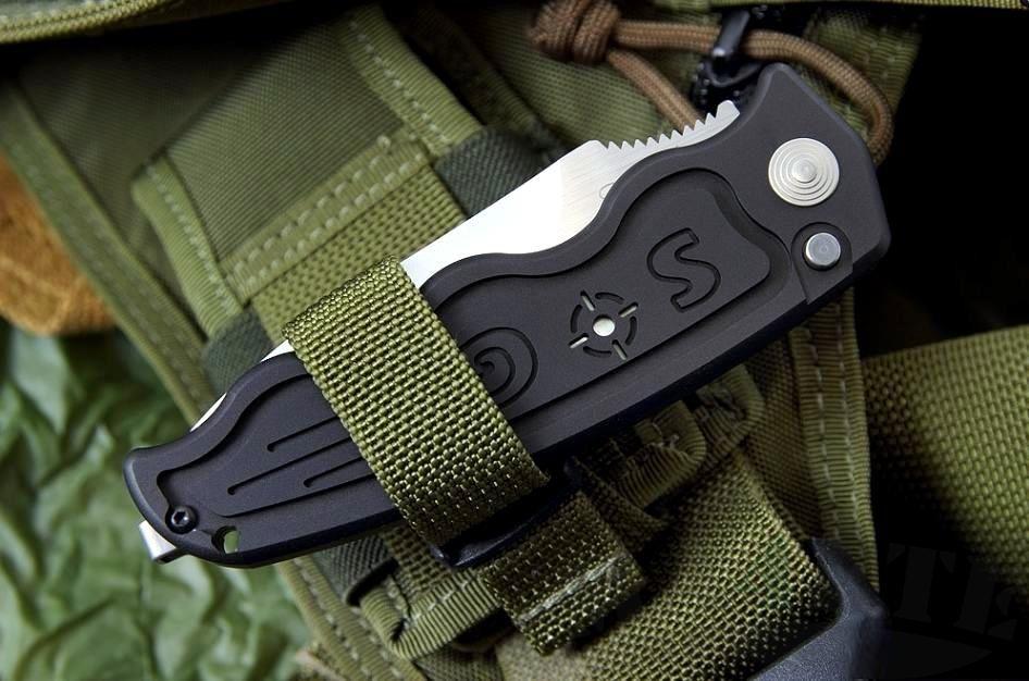 картинка Складной автоматический нож SOG-TAC ST05 от магазина ma4ete