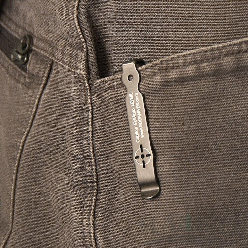 картинка Складной автоматический нож SOG-TAC ST02 от магазина ma4ete