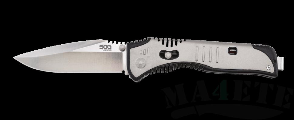 картинка Складной полуавтоматический нож SOG Flashback SAT001 от магазина ma4ete