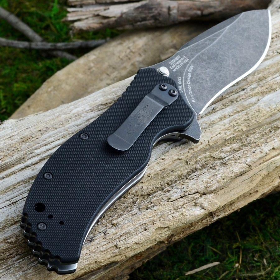 картинка Складной полуавтоматический нож Zero Tolerance 0350BW от магазина ma4ete