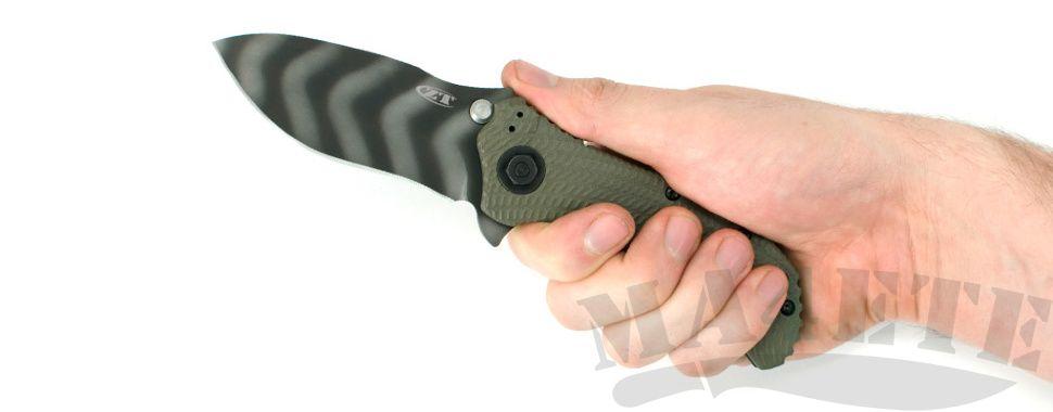 картинка Складной полуавтоматический нож Zero Tolerance 0301 от магазина ma4ete