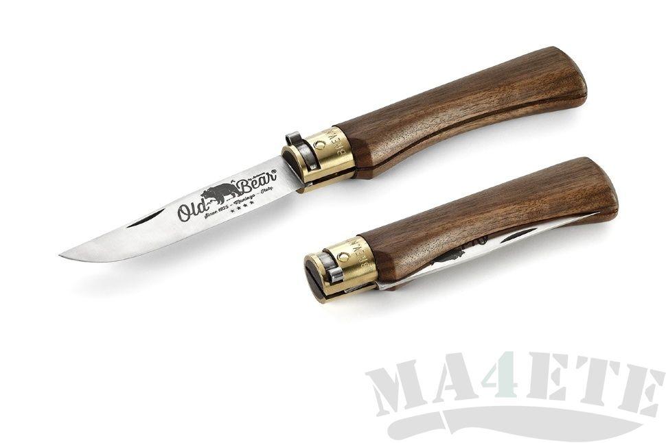 картинка Складной нож Antonini Old Bear Walnut M AN_9307/19_LN от магазина ma4ete