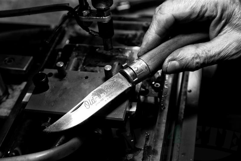 картинка Складной нож Antonini Old Bear Walnut S AN_9307/17_LN от магазина ma4ete