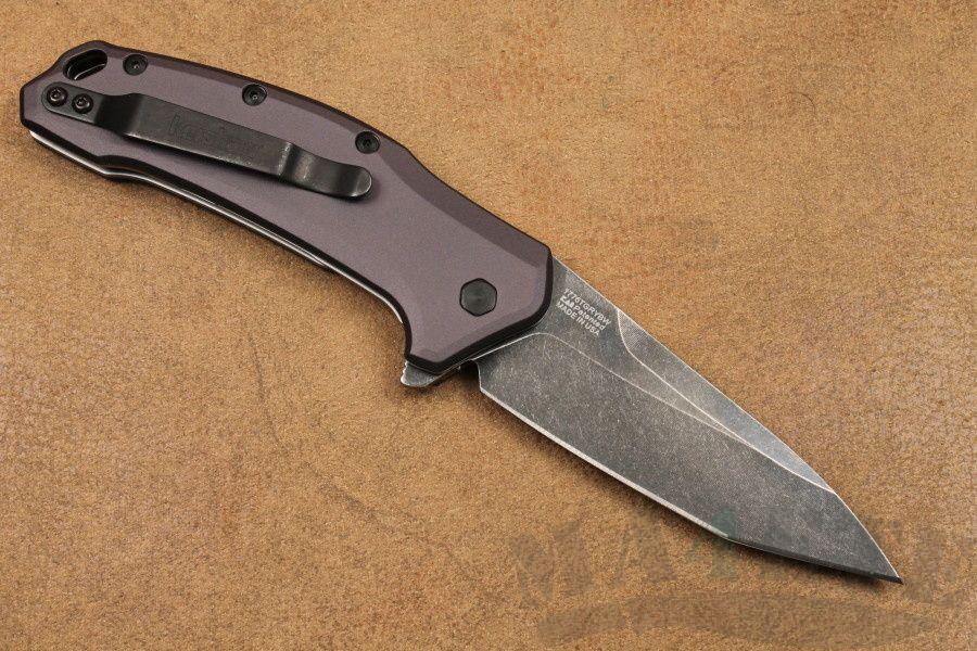 картинка Складной полуавтоматический нож Kershaw Link Tanto K1776TGRYBW от магазина ma4ete