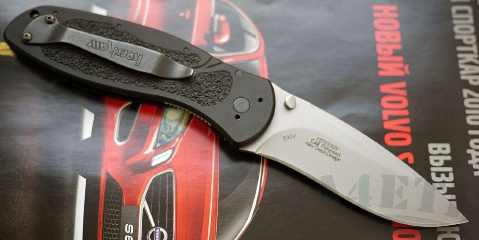 картинка Складной полуавтоматический нож Kershaw Blur K1670S30V от магазина ma4ete