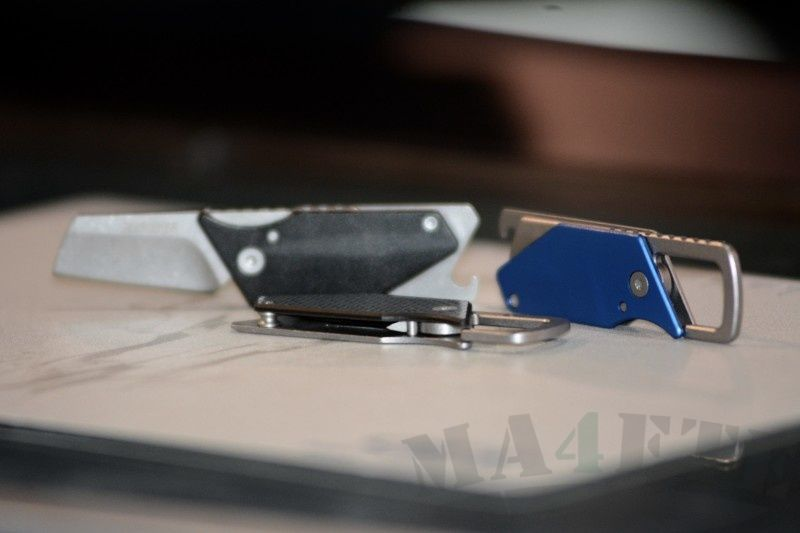 картинка Складной нож - брелок Kershaw Pub Blue K4036BLU от магазина ma4ete