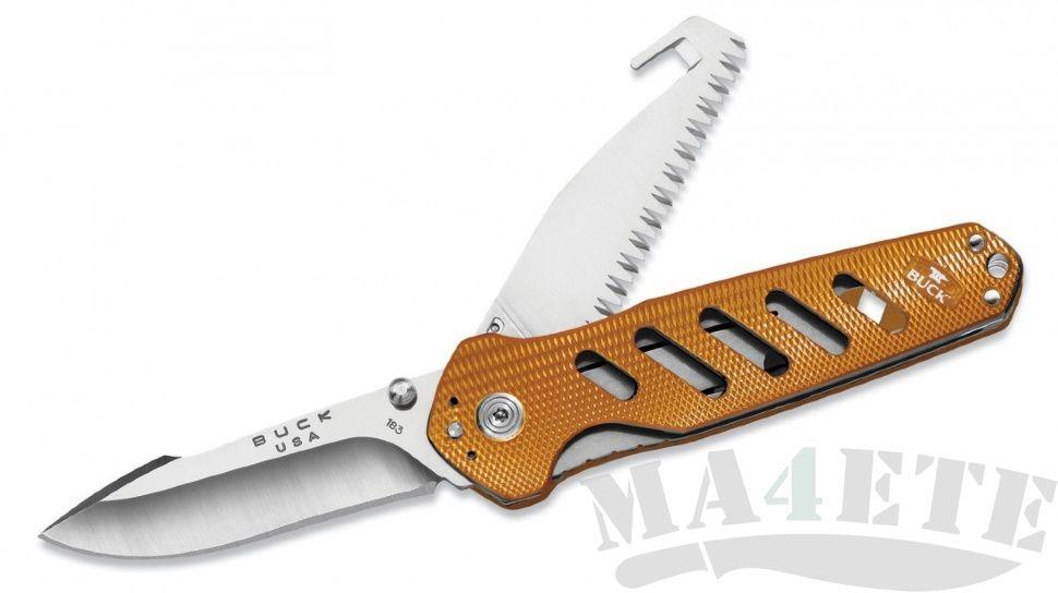 картинка Складной нож Buck Alpha Crosslock 0183ORS от магазина ma4ete