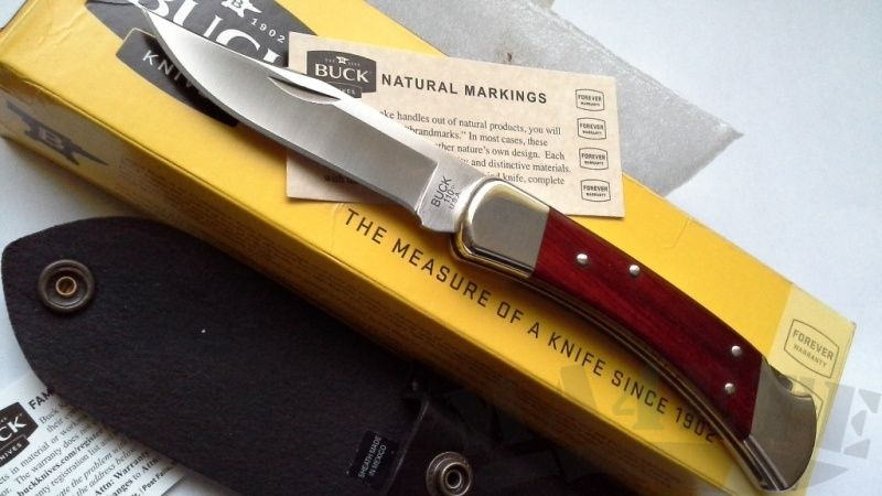 картинка Складной нож Buck Folding Hunter S30V 0110CWSR от магазина ma4ete