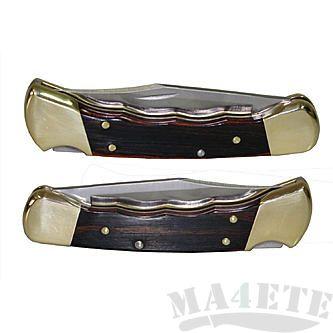 картинка Складной нож Buck Folding Hunter с выемками 0110BRSFG от магазина ma4ete