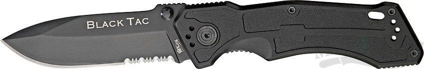 картинка Складной нож Ontario Black Tac 8793 от магазина ma4ete