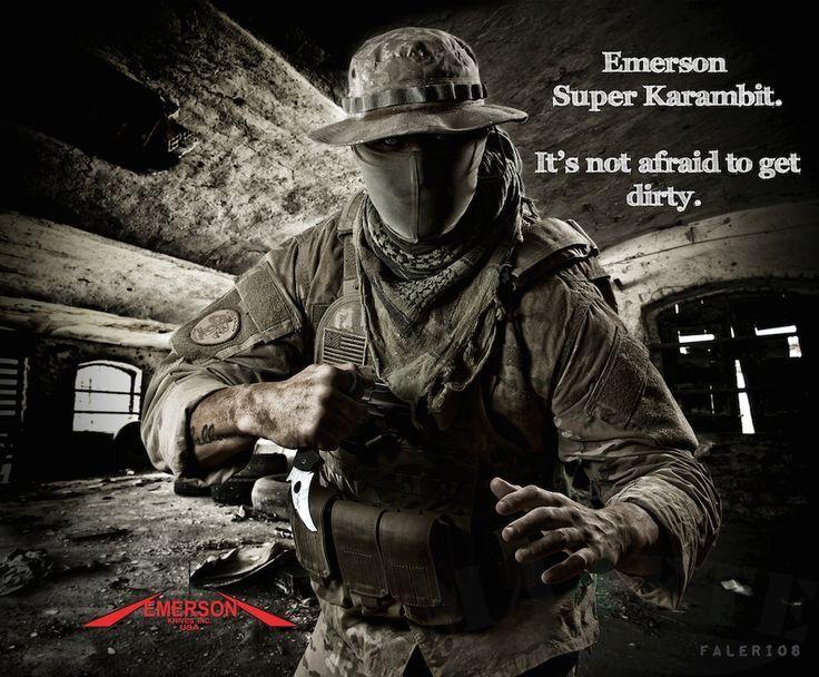 картинка Складной нож Emerson Super Karambit SF от магазина ma4ete