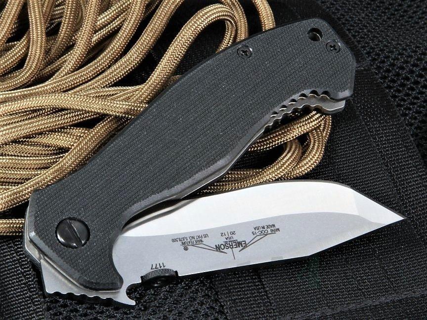 картинка Складной нож Emerson Mini CQC-15 SF от магазина ma4ete