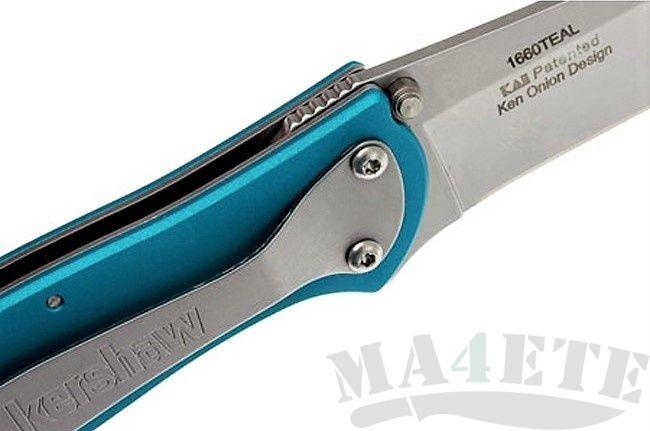 картинка Складной полуавтоматический нож Kershaw Leek K1660TEAL от магазина ma4ete