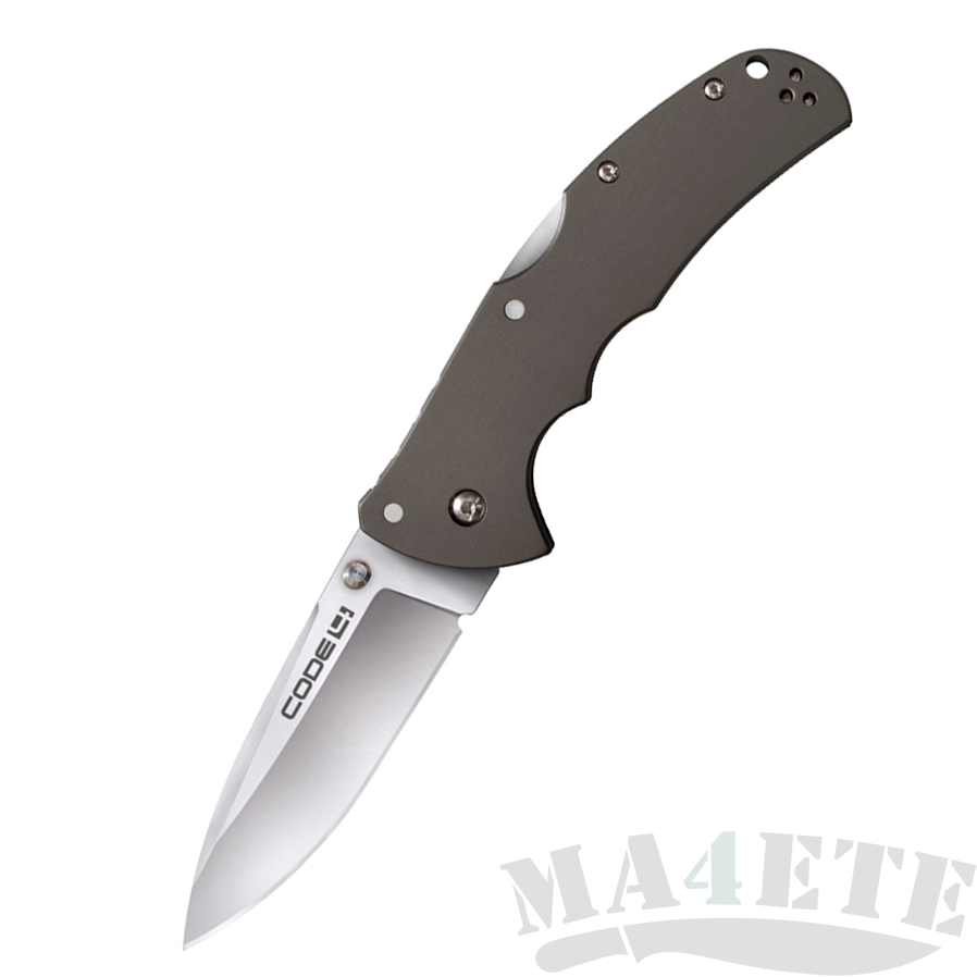 картинка Складной нож Cold Steel Code 4 Spear Point Aus 8A 58TPS от магазина ma4ete