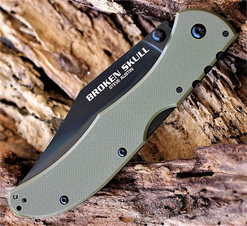 картинка Складной нож Cold Steel Broken Skull 3 54SBG от магазина ma4ete