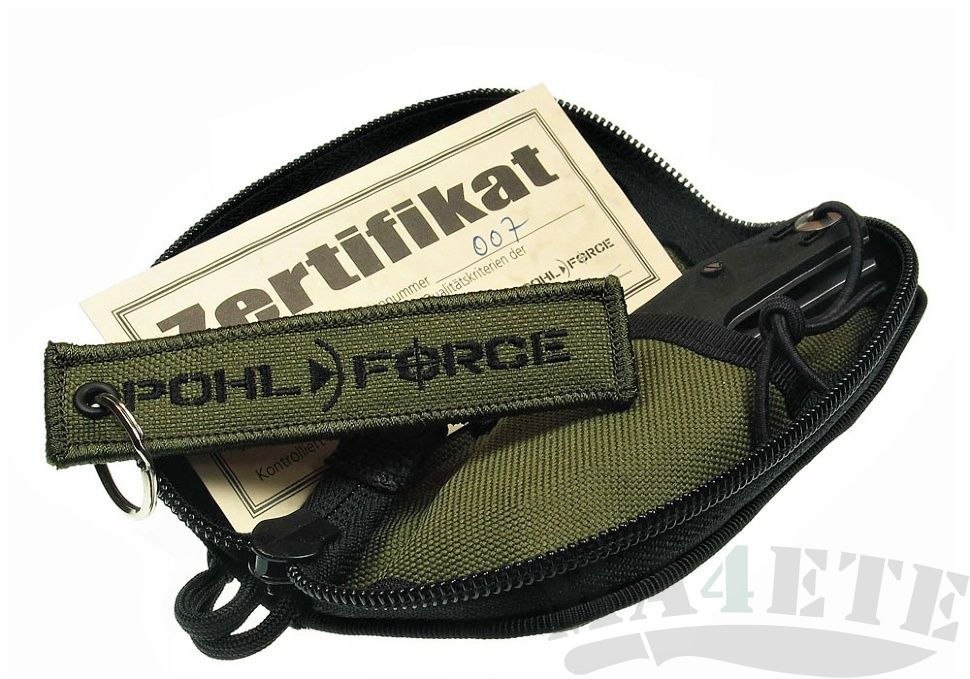 картинка Складной нож Pohl Force Bravo One Outdoor Gen2 1026 от магазина ma4ete