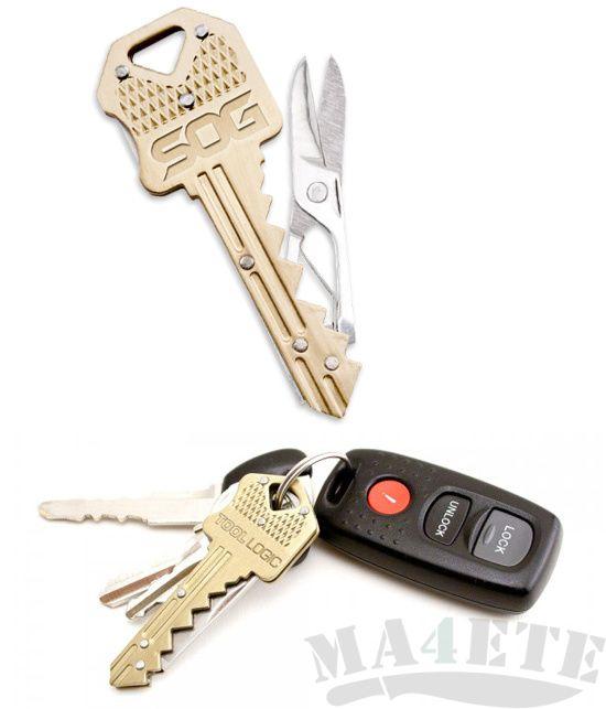 картинка Брелок ключ-ножницы SOG Key-Scissors KEY202 от магазина ma4ete