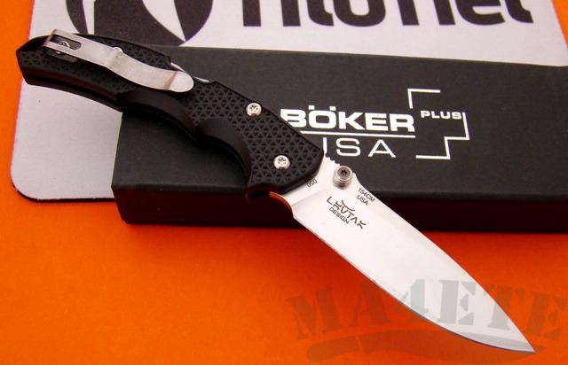 картинка Складной нож Boker Plus Patriot Satin 01BO370 от магазина ma4ete
