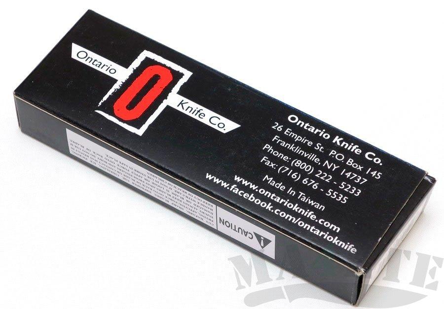 картинка Складной нож Ontario RAT-1 Carbon Fiber 8886CF от магазина ma4ete