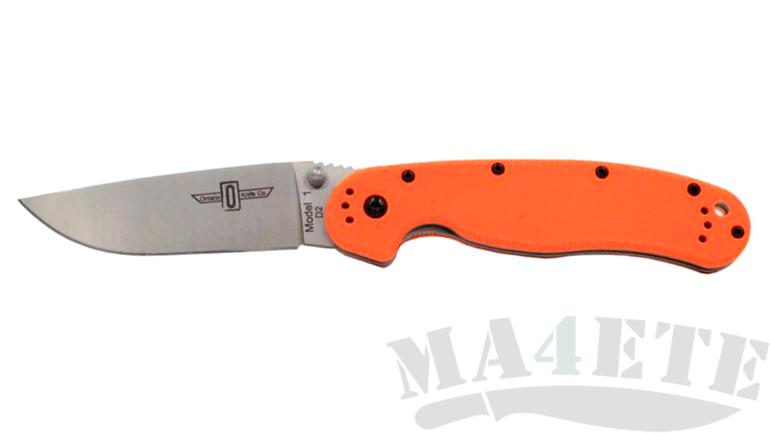 картинка Складной нож Ontario RAT-1 Orange 8867OR от магазина ma4ete