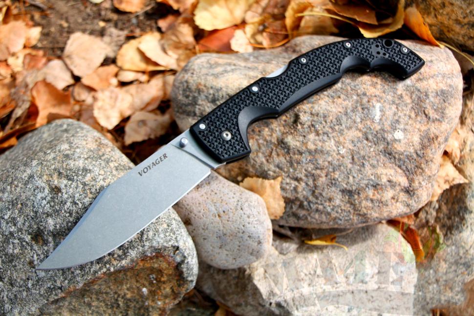 картинка Складной нож Cold Steel Voyager XL Clip Aus 8A 29TXC от магазина ma4ete