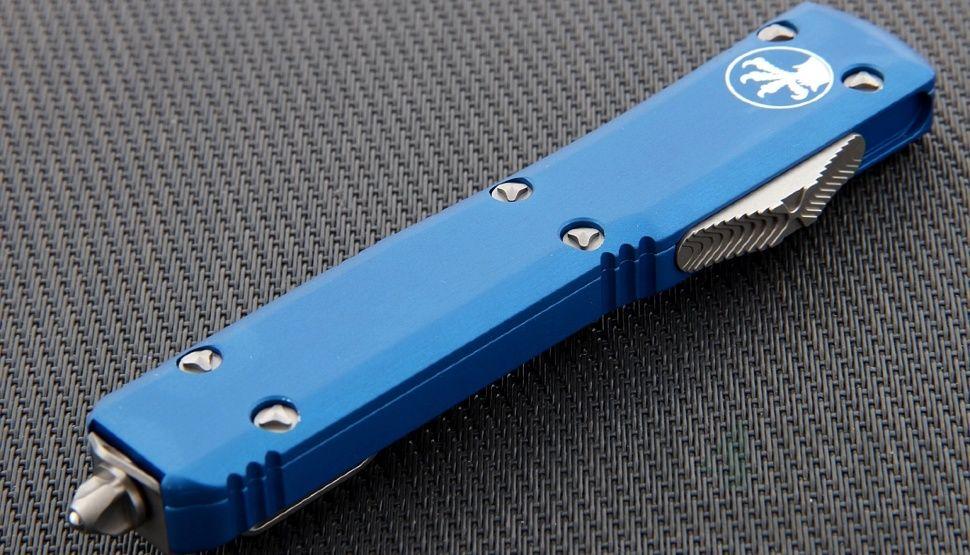 картинка Автоматический выкидной нож Microtech Ultratech T/E MT_123-4BL от магазина ma4ete