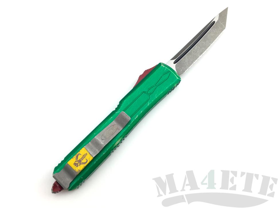 картинка Автоматический выкидной нож Microtech Ultratech Apocalyptic Bounty Hunter T/E MT_123-12BH от магазина ma4ete