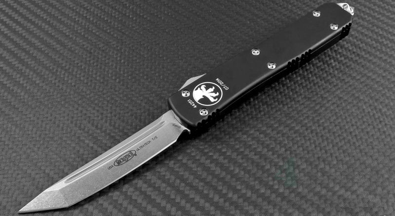 картинка Автоматический выкидной нож Microtech Ultratech Apocalyptic T/E MT_123-10AP от магазина ma4ete