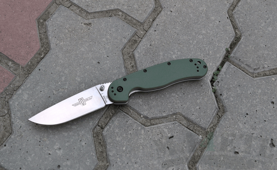 картинка Складной нож Ontario RAT-1 OD Green 8867OD от магазина ma4ete