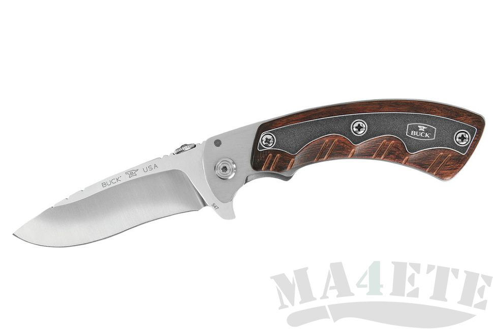 картинка Складной нож Buck Open Season Folding Skinner Rosewood B0547RWS от магазина ma4ete