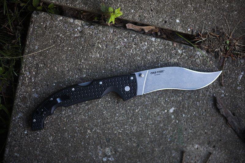 картинка Складной нож Cold Steel Voyager XL Vaquero Aus 8A 29TXV от магазина ma4ete