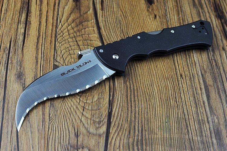 картинка Складной нож Cold Steel Black Talon II Serr 22BTS от магазина ma4ete