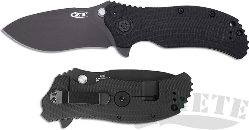 картинка Складной полуавтоматический нож Zero Tolerance K0300 от магазина ma4ete