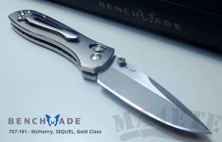 картинка Складной нож Benchmade Sequel Gold Class BM707-161 от магазина ma4ete