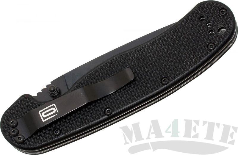 картинка Складной полуавтоматический нож Ontario RAT-1 Black 8871 от магазина ma4ete