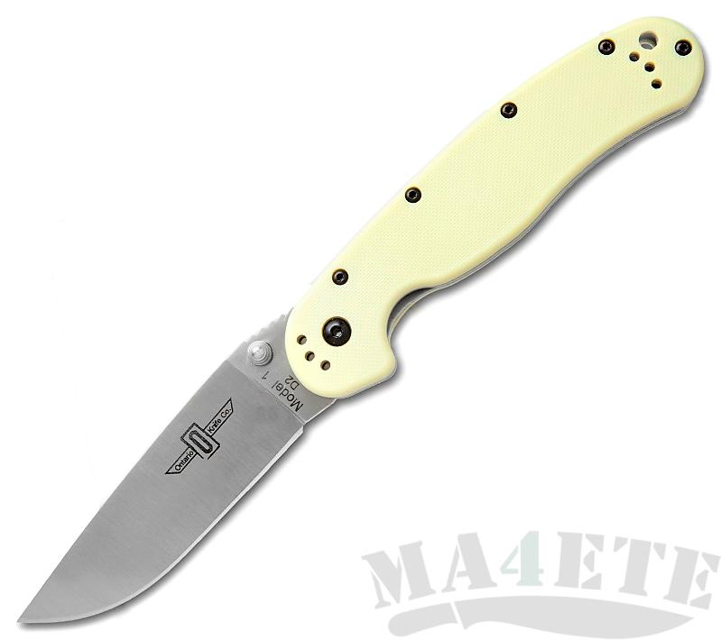 картинка Складной нож Ontario RAT-1 Tan 8867TN от магазина ma4ete