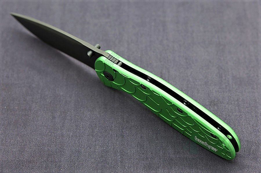 картинка Складной полуавтоматический нож Kershaw Blur 1670SPGRN от магазина ma4ete