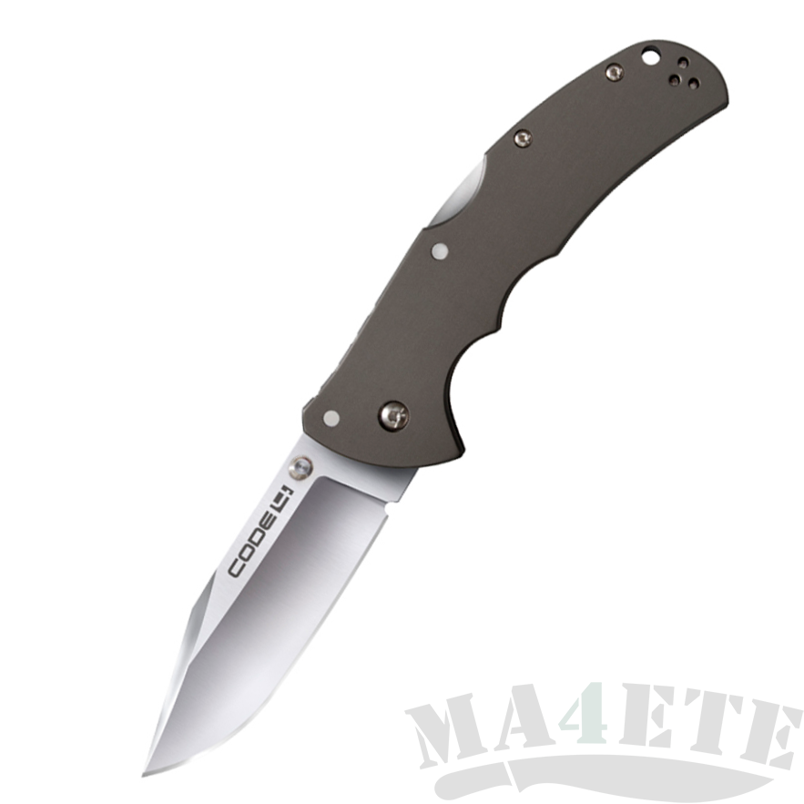 картинка Складной нож Cold Steel Code 4 Clip Point Aus 8A 58TPC от магазина ma4ete