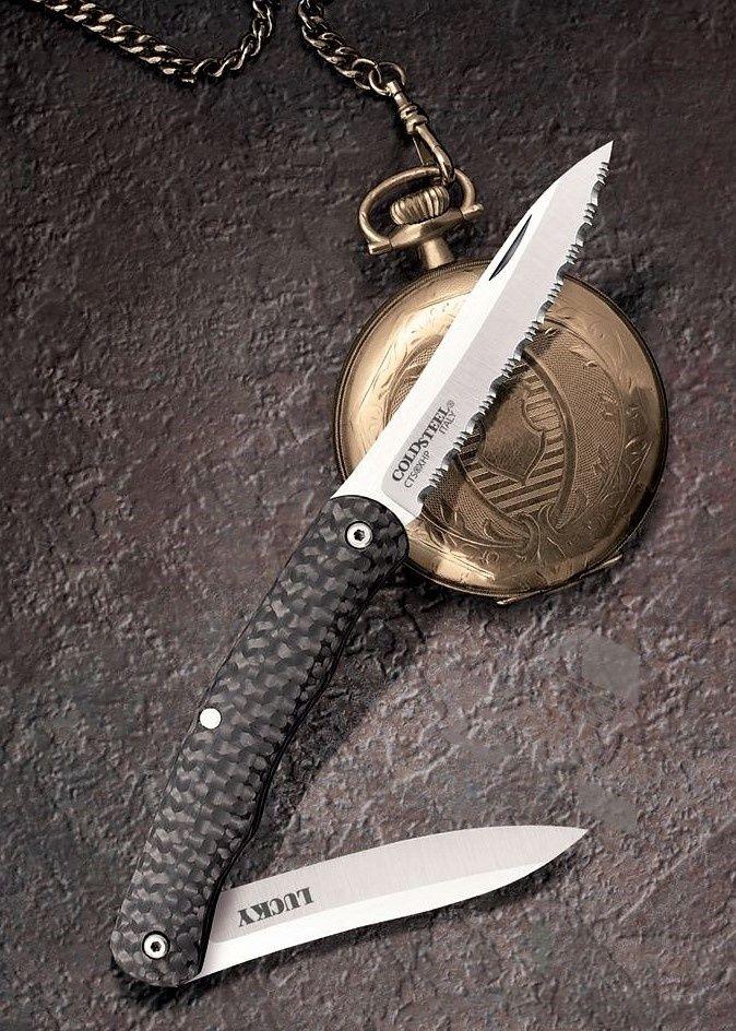 картинка Складной нож Cold Steel Lucky 54VPN от магазина ma4ete