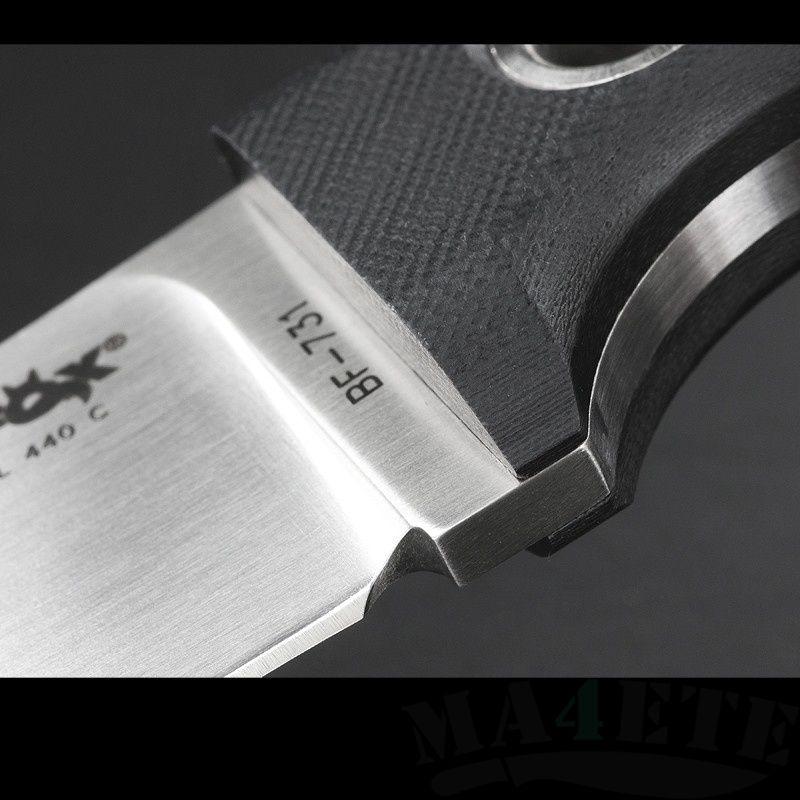 картинка Разделочный шкуросъемный нож Fox Viator BF-731 от магазина ma4ete
