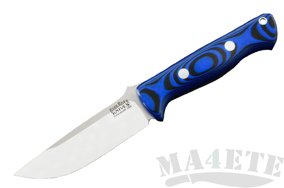 картинка Нож Bark River Bravo1 3VR Blue&Black G-10 от магазина ma4ete