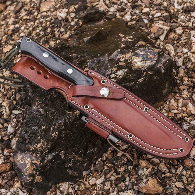 картинка Нож Bark River Bravo1 3VR Black Canvas Matte от магазина ma4ete