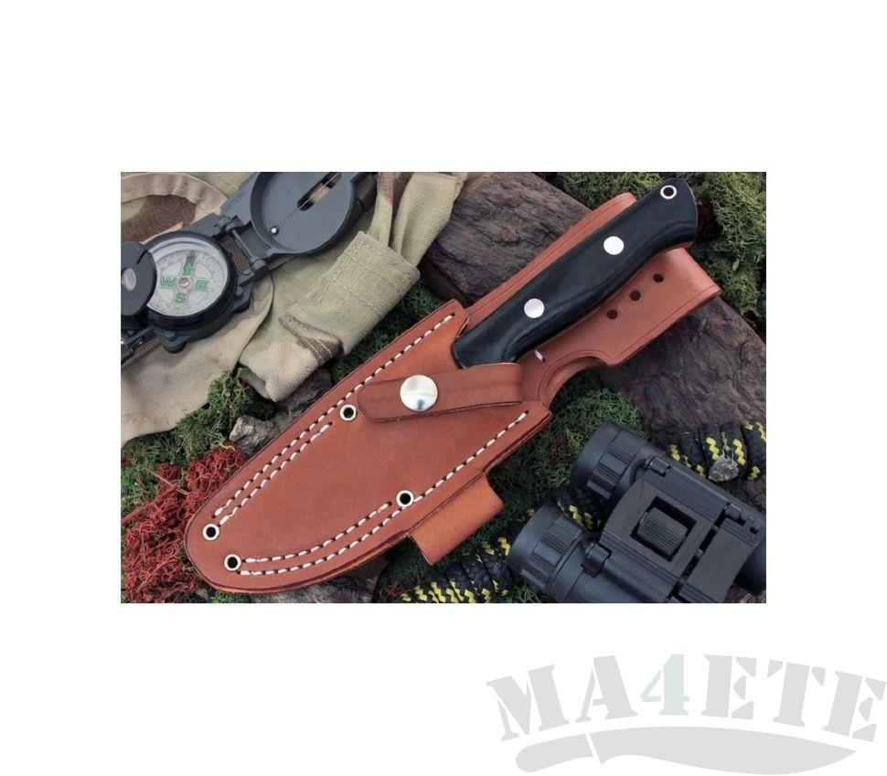 картинка Нож Bark River Bravo1 3VR Black Canvas Bloody Basin Spaser от магазина ma4ete